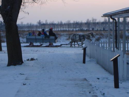 sleigh rides at fort sisseton