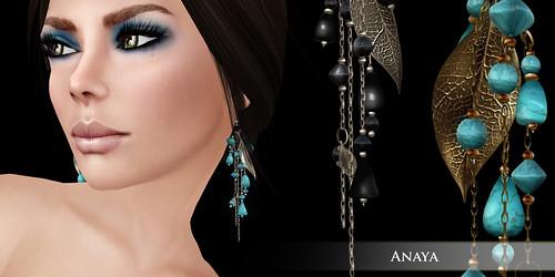 Zaara : Anaya clustered earrings