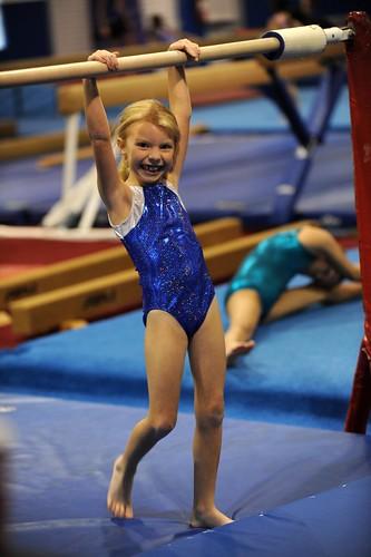 My little gymnast