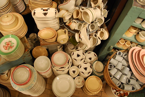 Vintage bowls and cups from Fishs Eddy