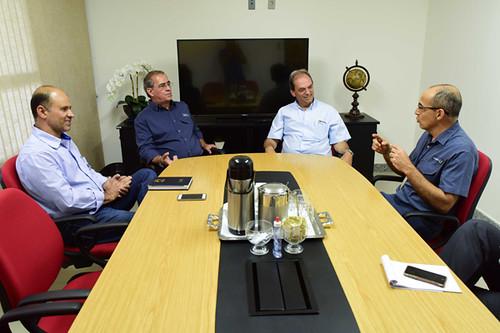 Com o presidente da FIEMG, Luciano Araújo