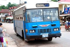 A local Laos bus