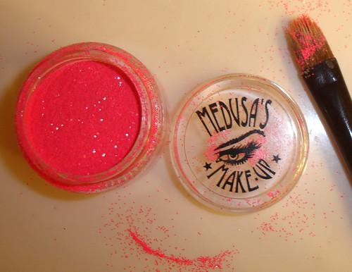 Medusa's Makeup Neon Pink Glitter