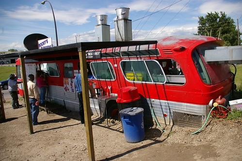 Rocky's Burger Bus