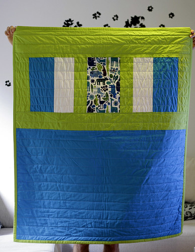 Onni's Quilt Back