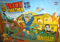 20090907 - art - poster - Drawn Together subwa...