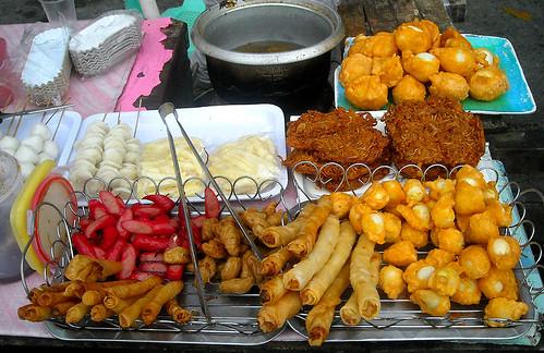Kwek Kwek, cheese Stick, Kikiam, Squid balls, etc..