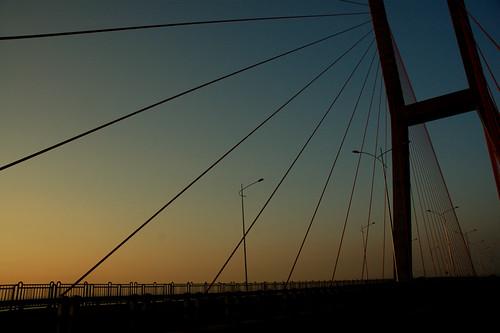 Suramadu at Sunrise