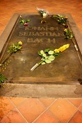 Tomb of Johann Sebastian Bach