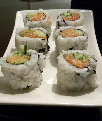 Spicy Salmon Rolls