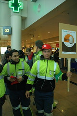 Union actions at Brussels Airport