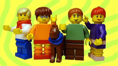 Lego Scooby Gang