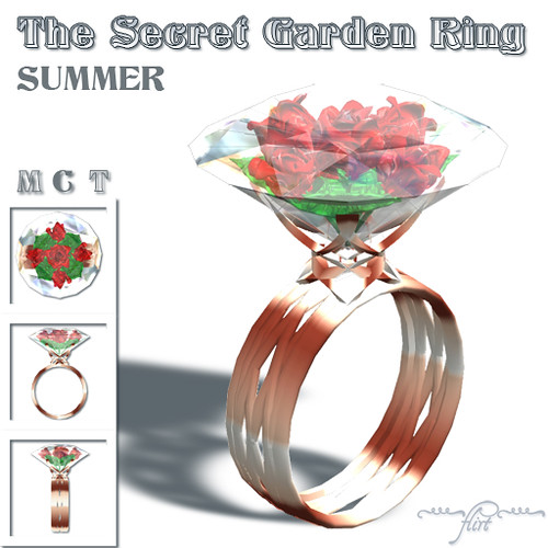 ~flirt~ The Secret Garden Ring: SUMMER