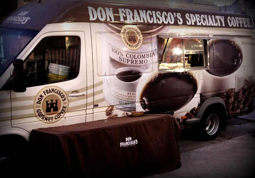 Don Francisco's Speciality Coffee Van DTLA Artwalk October Edition by you.