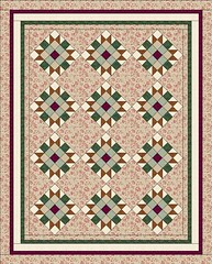 Sister's Choice Quilt by Sandi Walton at Piecemeal Quilts