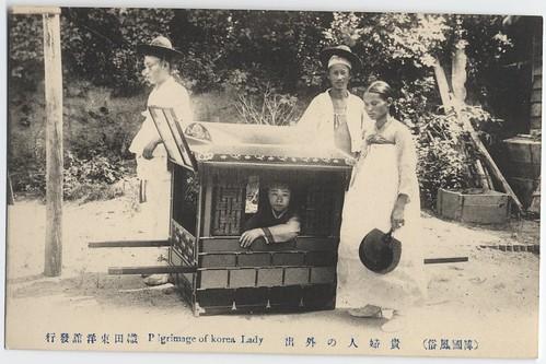 Pilgrimage of Korea[n] lady