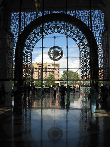 Marrakech - railway station