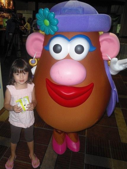 M with Mrs. Potato Head