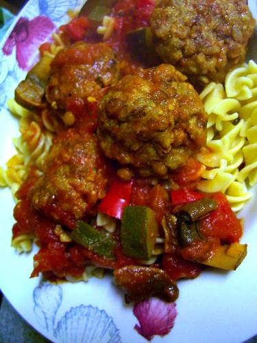 LRball pasta