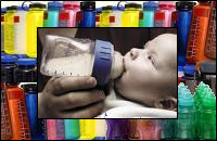 Bisphenol-A in polycarbonate plastics was found especially toxic to babies and children
