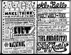 2009 AIGA Design Conference, Sketchnotes 1