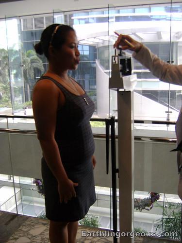 Kessa weighing off