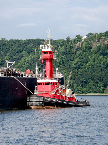 The Tugboat Barbara E. Bouchard by you.