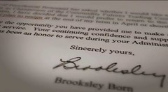 The Warning (PBS) - Brooksley Born letter