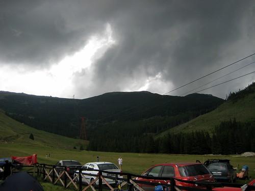 hmm ... rain coming ?