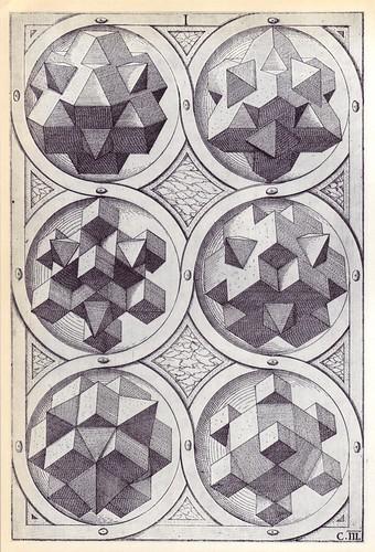 Terra (c) - Perspectiva Corporum Regularium -  Wenzel Jamnitzer 1568