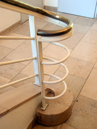 Schocken library, jerusalem - banister by you.