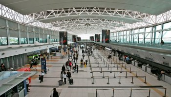 Buenos Aires Airport, International Check In Area (by Alex E. Proimos)