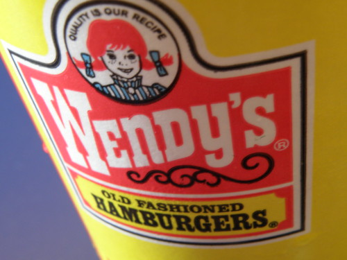 Wendy's Cup: Logo