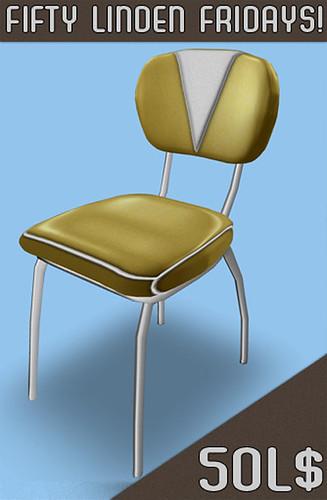 Artilleri - Fifty Linden Fridays Diner Chair