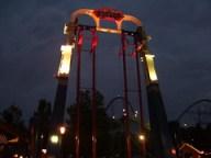 Cedar Point - Skyhwak at Night