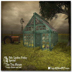 50L Friday - Week 15 - Turnip's Homes and Stuff - The Tea House (50L Friday Version)