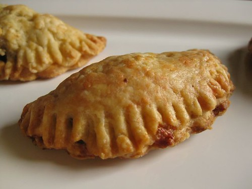 Apple Turnovers With Cheddar Crust