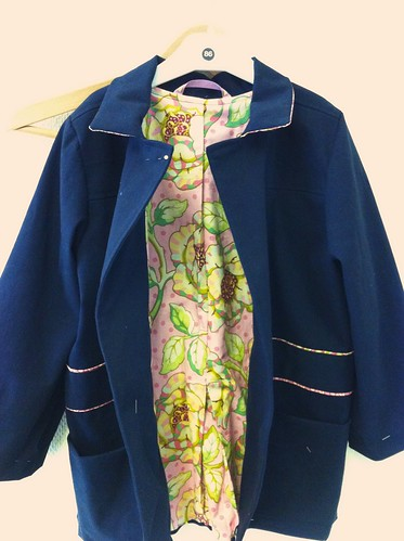 School Days Coat take 2 - KCWC Day 1
