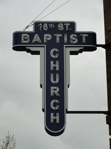 16th Street Baptist Church Sign, Birmingham AL