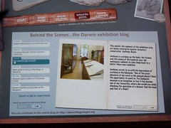 Computer interactive shows posts from exhibits blog