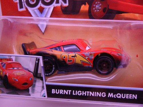 CARS TOONS Burnt McQueen