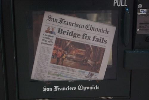 Bridge fix fails - San Francisco Chronicle
