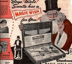 Magic Wish Creepy Santa...