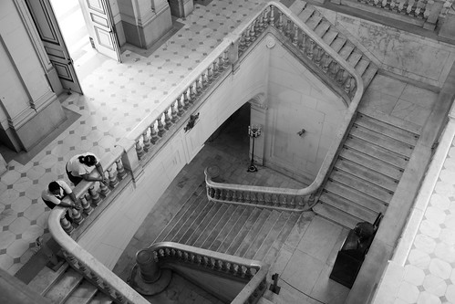 I guess even the most spectacular, most historic of stairways become boring after a while ...