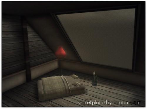 secret.place by jordan giant