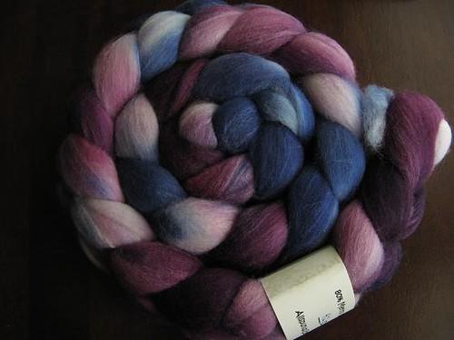 ASU merino/silk fiber