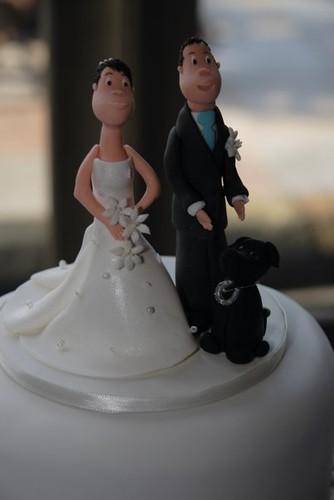 Cirencester Cupcakes - Sara & Adam's Topper