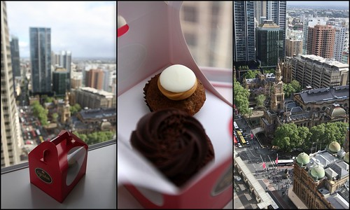 Cupcakes and Hotel View