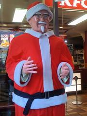 Colonel Sanders Santa