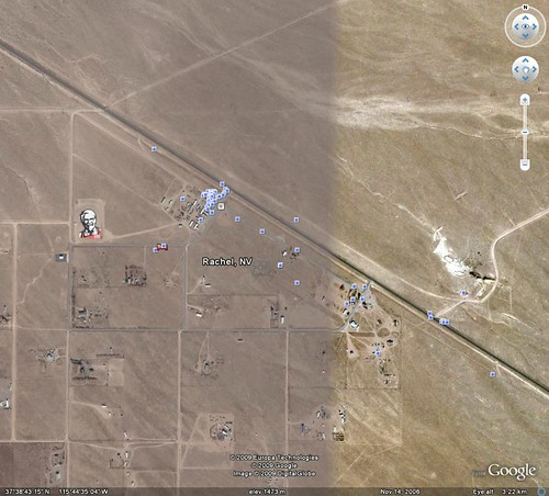 On Walkabout At: Area 51 in Nevada - On Walkabout